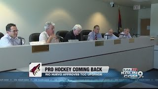 Rio Nuevo board approves plan to draw pro hockey to Tucson