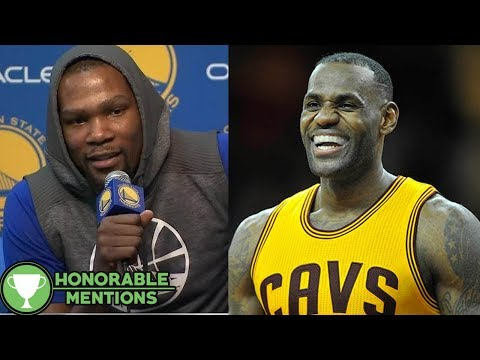 Download Youtube: Kevin Durant CALLS OUT LeBron James for Cold Showers in the Warriors' Locker Room in Cleveland -HM