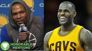 Kevin Durant CALLS OUT LeBron James for Cold Showers in the Warriors