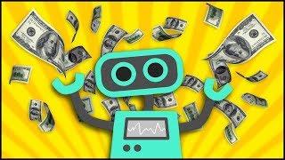 Заработок криптовалюты на автомате. Бот для заработка. Биткоин на автомате.Bot for earnings.