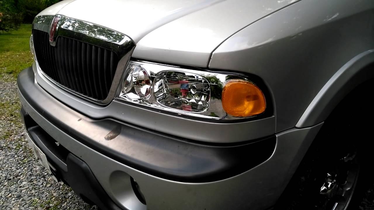 1998 lincoln navigator new headlights [ 1280 x 720 Pixel ]
