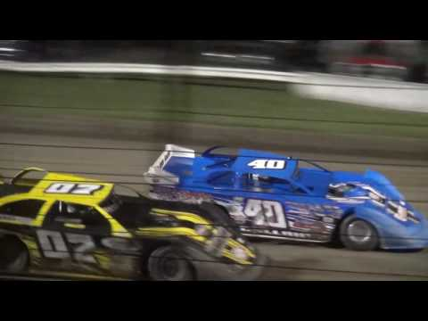 "Deery Brothers IMCA Late Model Championship ""Liberty 100"" feature West Liberty Raceway 9/24/16"