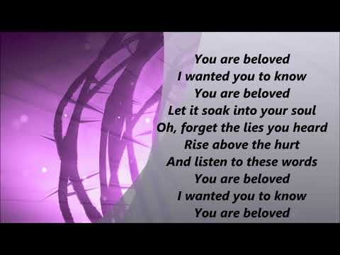 Jordan Feliz  Beloved Lyrics