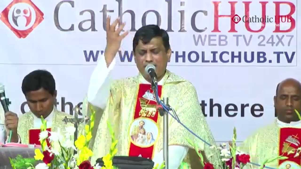 Divine Family Healing Convention, Preaching by Rev.Fr Syril Doss, 26-04-2015 HD