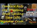watch he video of Demo Complete Auto Ore Processing & Sifting Crash Landing Minecraft, Both Sieve and Hammer Sections