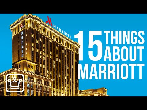15 Things You Didn't Know About MARRIOTT