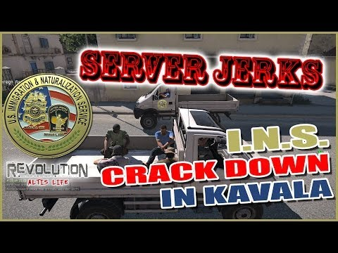 Server Jerks Altis Life - Immigration & Naturalization Service Crack Down