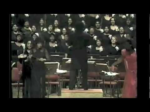 "Morgan State University Choir w/ alumni - ""Amazing Grace"""
