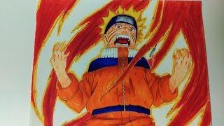 Sukhi Draws Naruto the Nine Tailed Fox Jinchūriki (Naruto