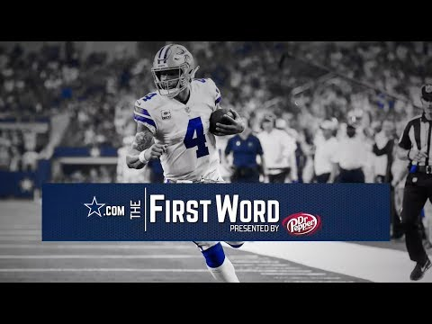 The First Word: The Cowboys Blowout Jacksonville | Dallas Cowboys 2018