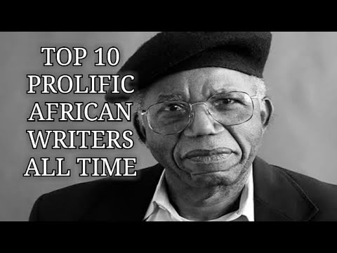 Top 10 African Authors of All time