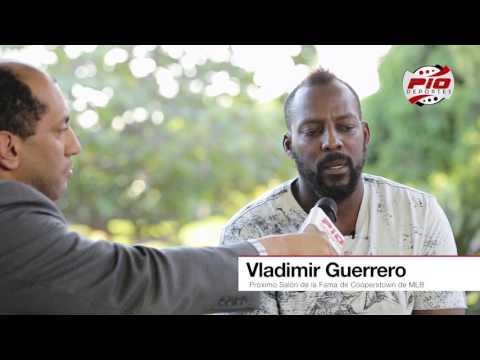 ENTREVISTA VLADIMIR GUERRERO - SALÓN DE LA FAMA DE COOPERSTOWN