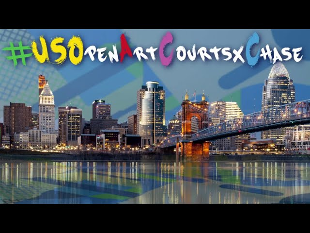 US Open Art Courts x Chase: Cincinnati  - Buy American