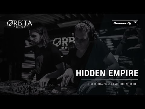 HIDDEN EMPIRE [live Orbita project w/ Hidden Empire ] @ Pioneer DJ TV | Moscow