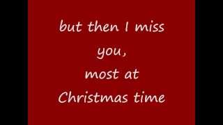 Mariah Carey - Miss You Most At Christmas Time (lyrics on screen)