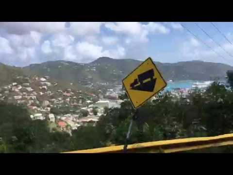 Crazy Taxi in Tortola, British Virgin Islands(1)  from Gane Garden Bay  Beach. February 8, 2016