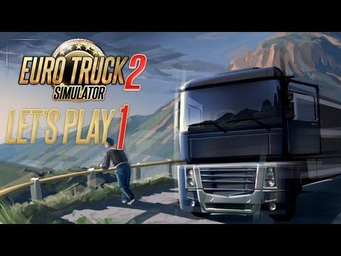 Euro Truck Simulator 2: За рулем по Европе [#1]