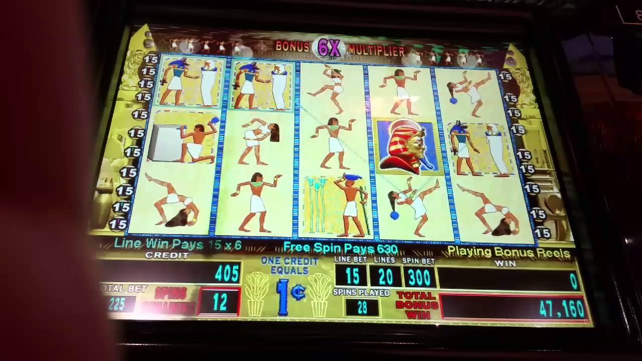 Pharoahs Fortune Slot Machine