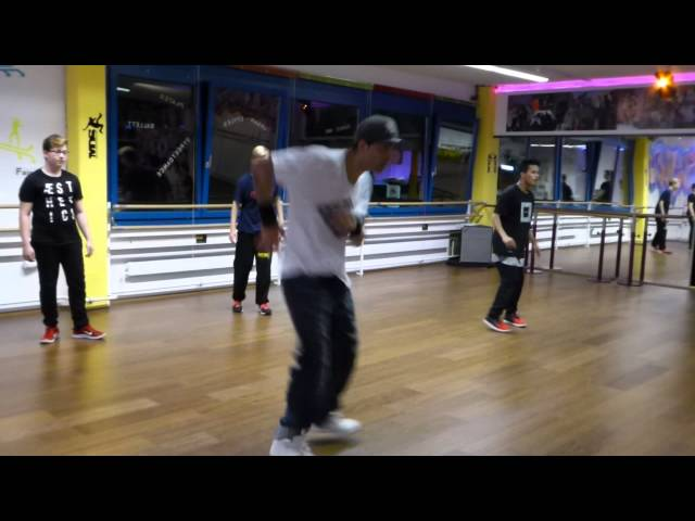 Breakdance routing for beginners 4