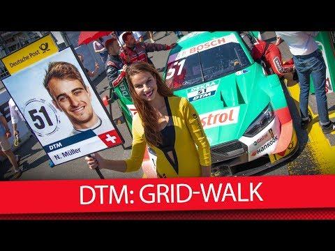 Was passiert in der Startaufstellung am Norisring? - DTM 2019 (VLOG)