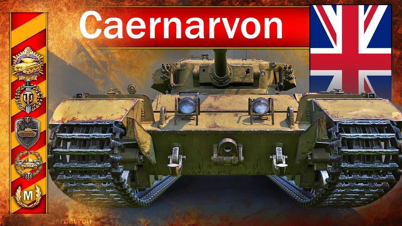 Caernarvon – mistrzostwo świata – BITWA – World of Tanks
