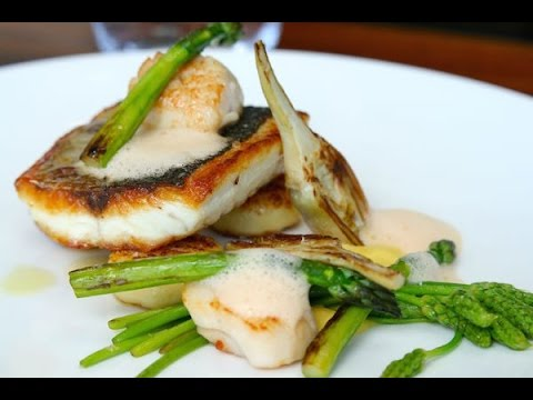 Seabass Recipe |  How To Cook Seabass | The Salt Room Restaurant