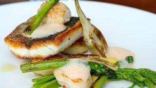 Seabass Recipe   How to Cook Seabass  The Salt Room Restaurant