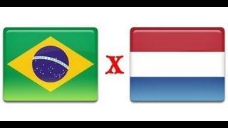 Brasil 0 x 2 Holanda - Copa do Mundo Alemanha 1974 - Jogo Completo