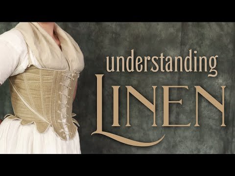 Linen Fabric 101: Supplies for Sewing