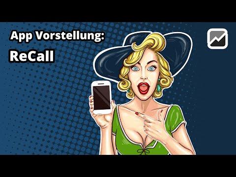 tricoma - App ReCall - Telefon Vertriebstool