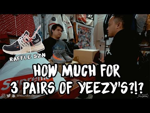 YEEZY RESELL IS DEAD!!! OFF WHITE NIKE RAFFLE & Shopping SELLING YEEZY on Melrose Round 2