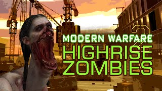 MODERN WARFARE 2 ZOMBIES: HIGHRISE ★ Left 4 Dead 2 Mod (L4D2 Zombie Games)