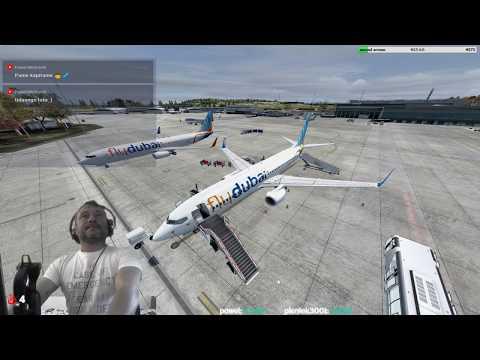 [P3Dv4.2] Kraków-Balice Airport (EPKK) → Dubai International Airport (OMDB)  [Vatsim]