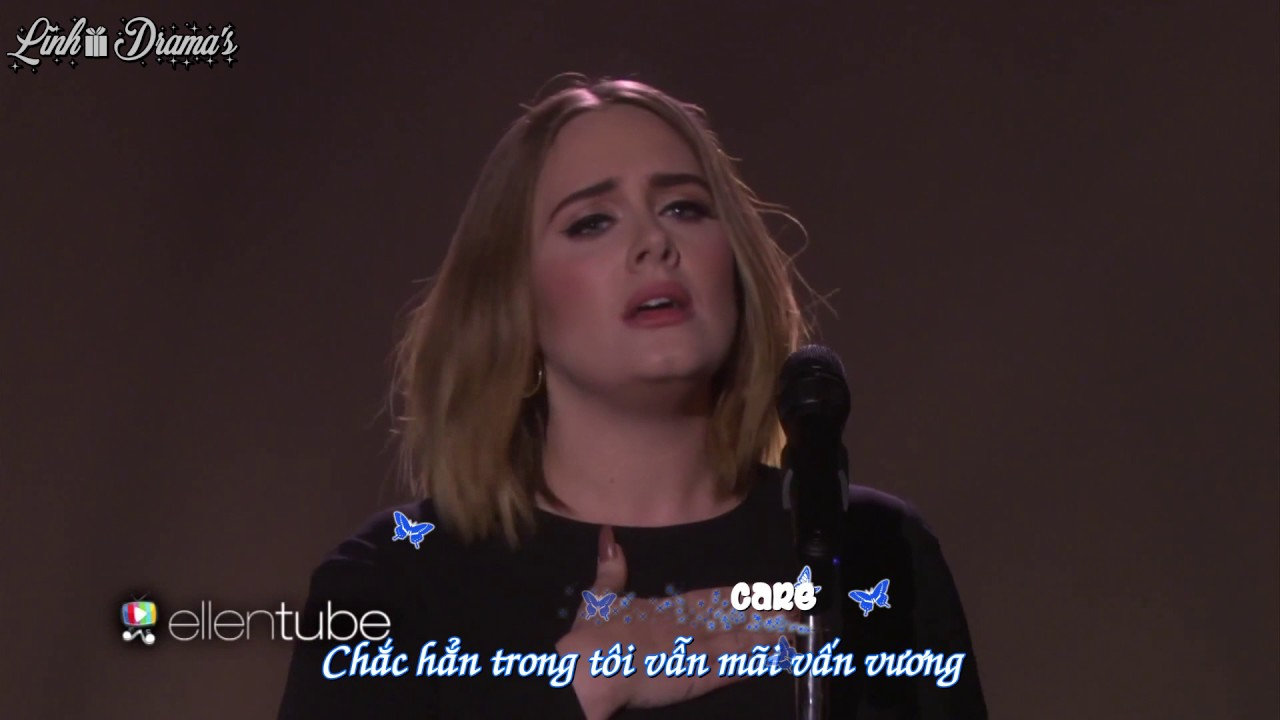 [Vietsub + Kara] Adele - When We Were Young || Live at The Ellen Show