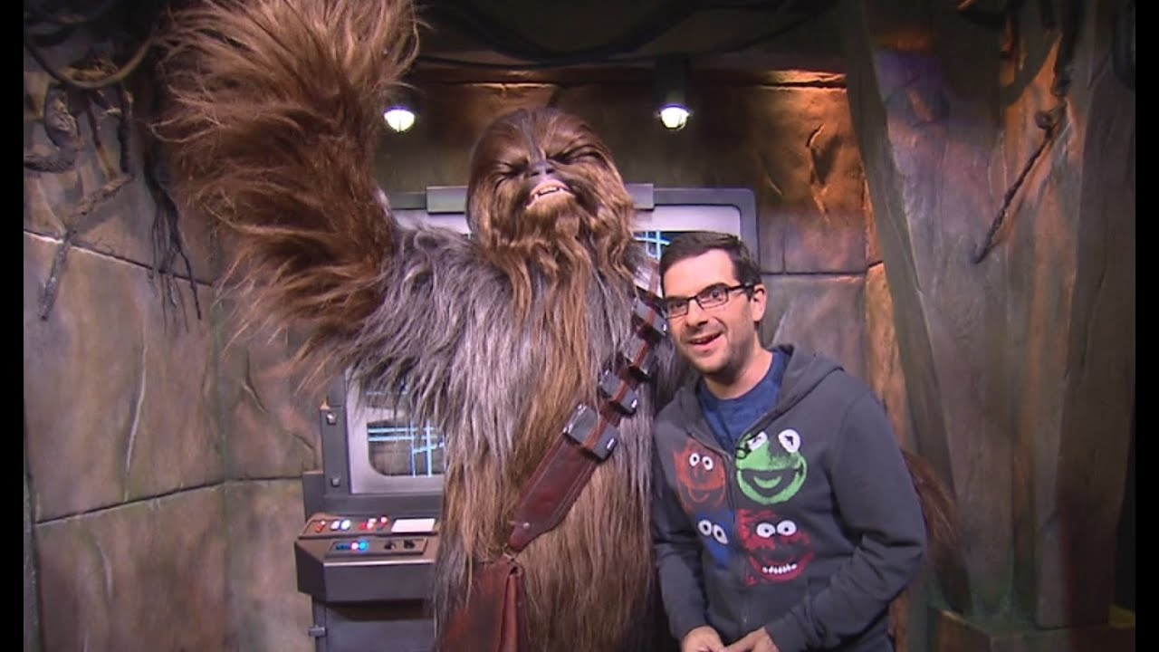Star wars launch bay imagineer led tour plus chewbacca meet greet star wars launch bay imagineer led tour plus chewbacca meet greet youtube m4hsunfo