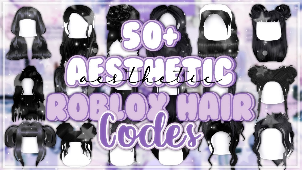 50 Aesthetic Black Hair Codes How To Use Roblox Youtube
