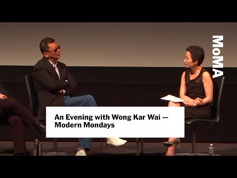 Wong Kar Wai on crafting roles for actors | MoMA Film