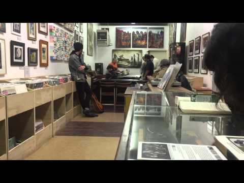 Sunday night jazz at a record store