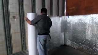 Astro-Side Guard Installation -  cargo insulation.