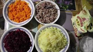 Новогодний салат, РЕЦЕП ШУБЫ, шуба салат, СЕЛЕДКА ПОД ШУБОЙ, САЛАТ С РЫБОЙ СЕЛЕДКОЙ