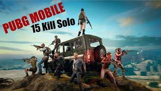 PUBGM on Note 8 |Solo 15 Kills Frag with a Rarest Gun |The Damnation