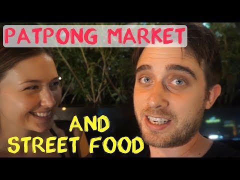 Thai Street Food   Lumpini Park   Night Market   Bangkok Thailand Vlog #5