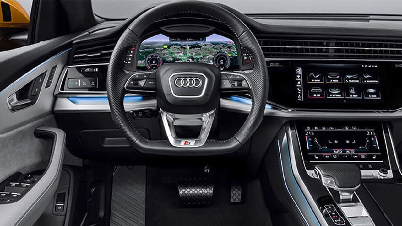 audi q8 2019 interior review most luxurious interior. Black Bedroom Furniture Sets. Home Design Ideas