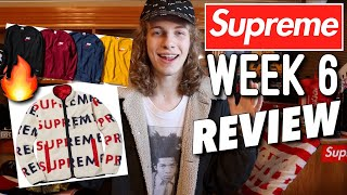 Supreme Grail Dropping! Supreme F/W '18 Week 6 Drop Review!