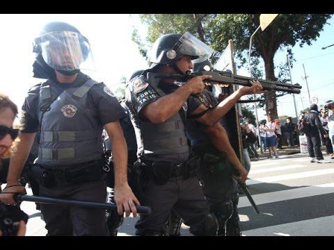 Полиция в Бразилии убивает в 6 раз больше, чем в США (новости)