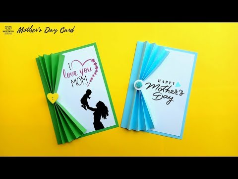 DIY Mother's Day card making | Handmade card for Mom