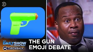 The Reason You Can't Use The Handgun Emoji Anymore | The Daily Show