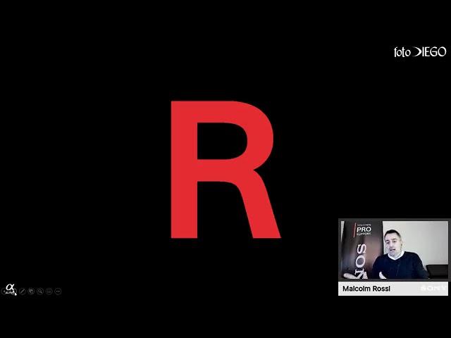 Live con con Malcom Rossi e Davide Grimoldi per scoprire la Sony a7RIV