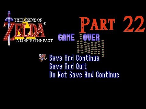 Zelda: Link to the Past - Part 22: Walking in Circles
