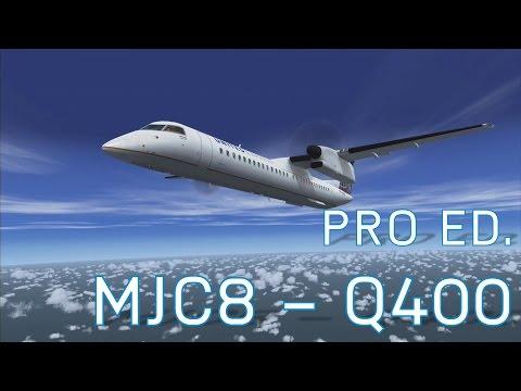 FSX Dash 8 Q400 - Majestic Software | FlightSim.Com - Episode 16